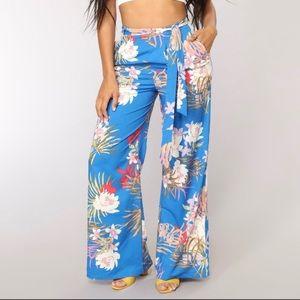Fashion Nova Nyla Print Pants - Brand New